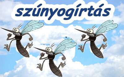Szúnyoggyérítés értesítő